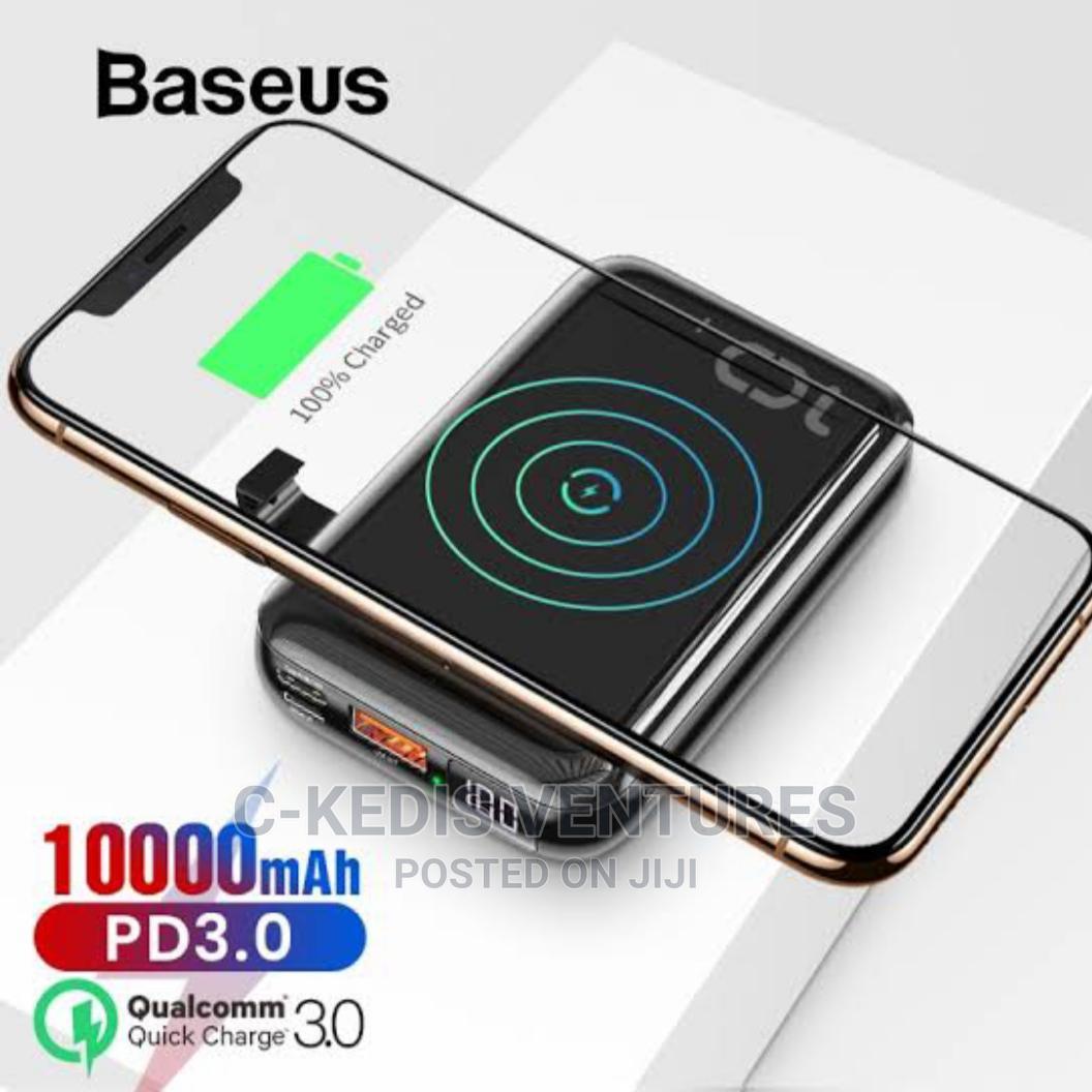 Baseus 10000mah Mini S Bracket Wireless Power Bank