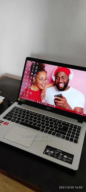 Laptop Acer Aspire 5 8GB AMD Ryzen SSD 128GB   Laptops & Computers for sale in Lagos State, Abule Egba