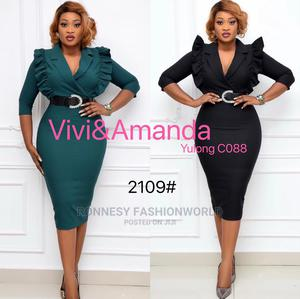 Classic Trendy Female Quality Fitted Gown   Clothing for sale in Lagos State, Ikeja