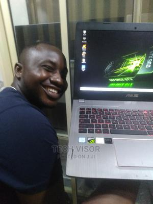 Laptop Asus ROG GL502VS 16GB Intel Core I7 SSHD (Hybrid) 1T | Laptops & Computers for sale in Lagos State, Ikeja