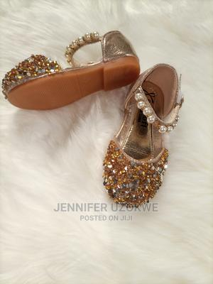 Gold Children Shoe | Children's Shoes for sale in Lagos State, Isolo
