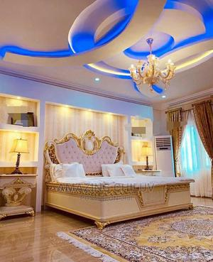 Royal Bed With Wardrobe and Dressing Mirror   Furniture for sale in Lagos State, Lekki