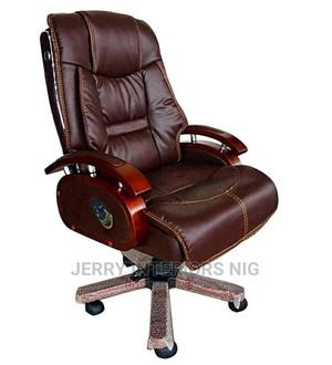 Executive Office Chair Brown. | Furniture for sale in Lagos State, Magodo