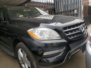 Mercedes-Benz M Class 2013 ML 350 4Matic Black   Cars for sale in Lagos State, Surulere