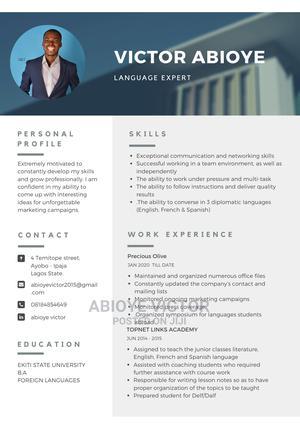Advertising Marketing CV   Advertising & Marketing CVs for sale in Akwa Ibom State, Uyo