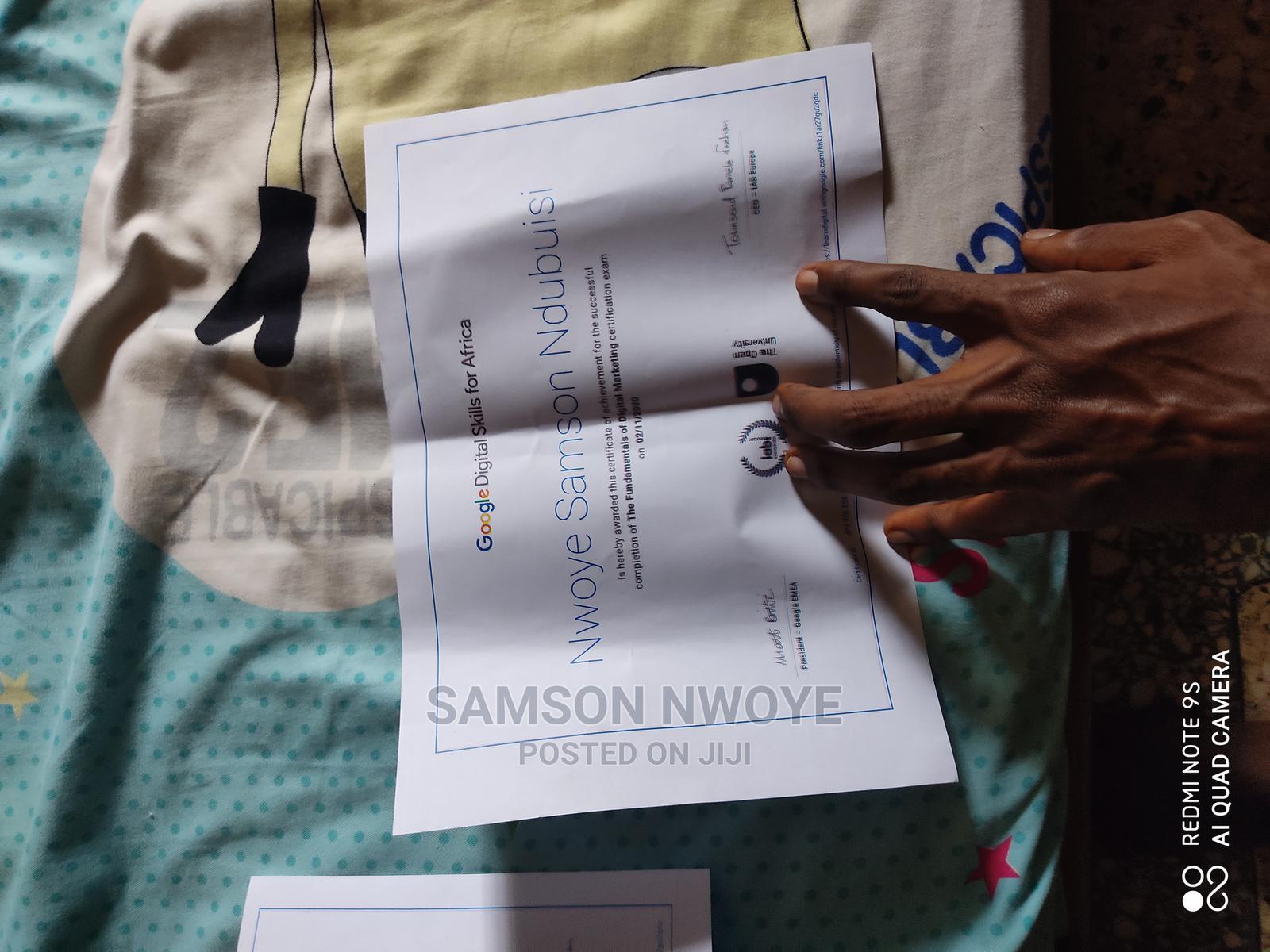 Advertising Marketing CV | Advertising & Marketing CVs for sale in Uyo, Akwa Ibom State, Nigeria