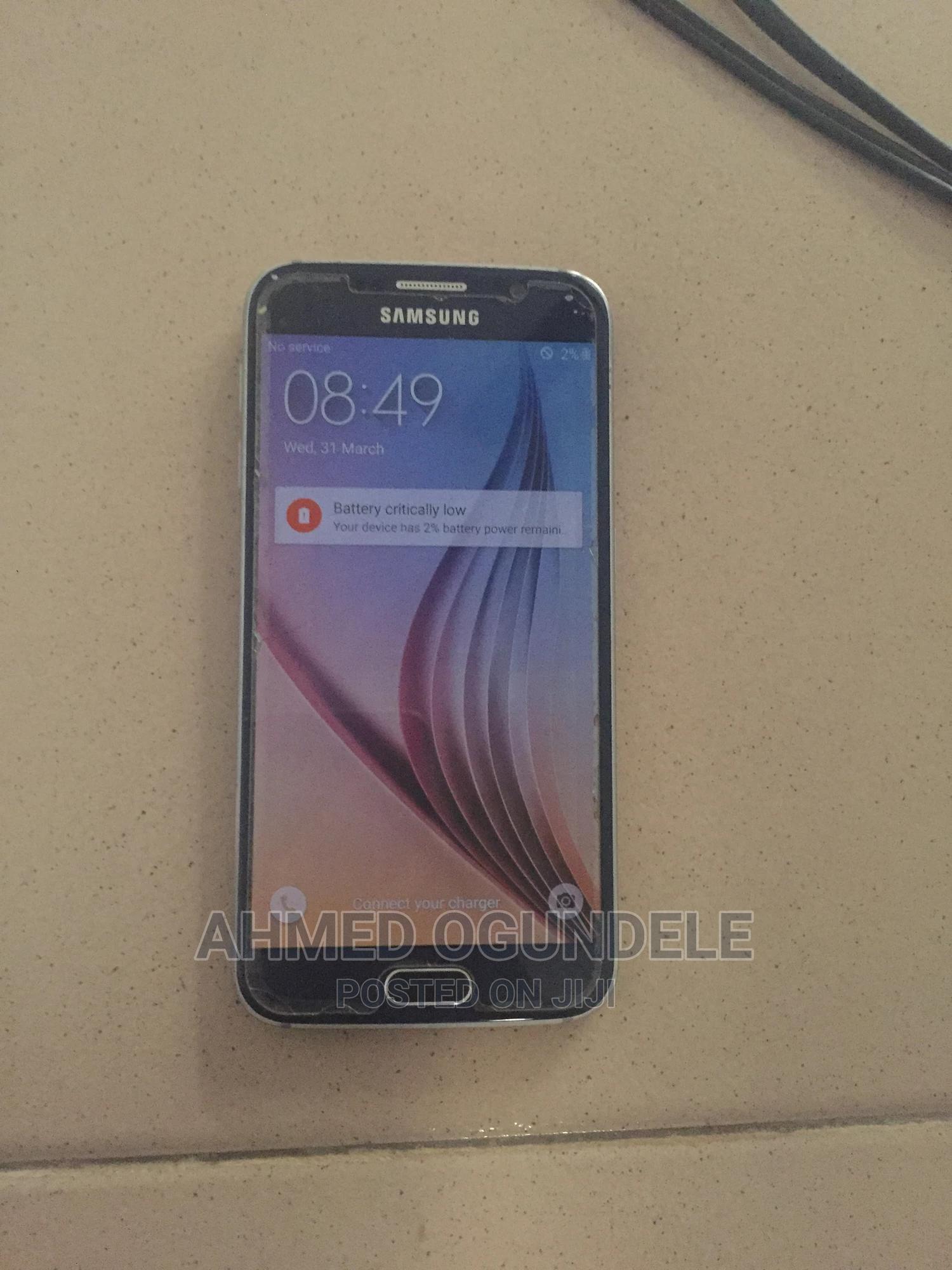 Archive: Samsung Galaxy S6 32 GB Black