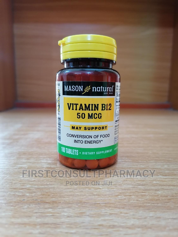 Mason Natural Vitamin B12 50mcg X 100