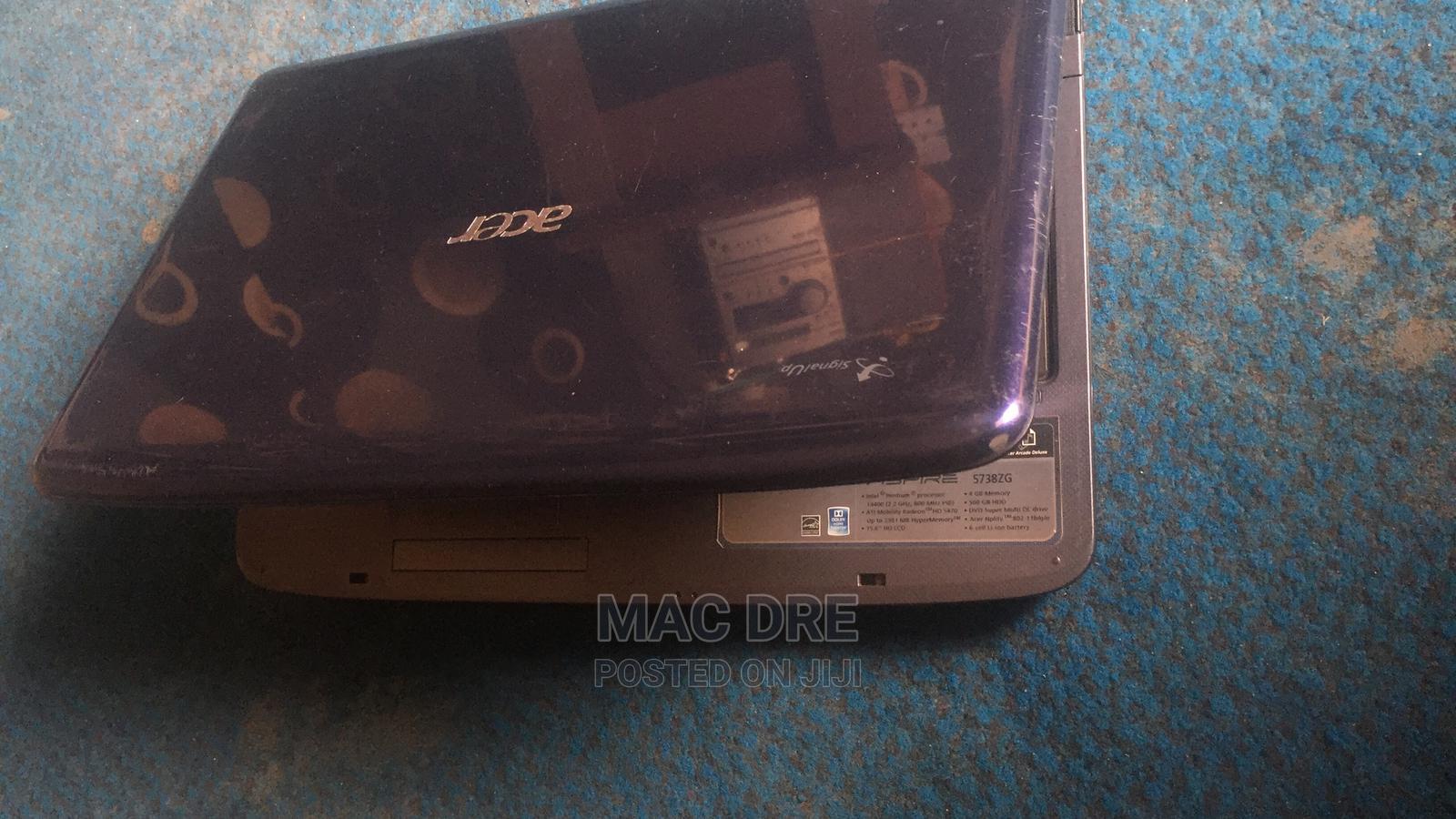 Archive: Laptop Acer Aspire 5738ZG 4GB Intel Pentium HDD 500GB
