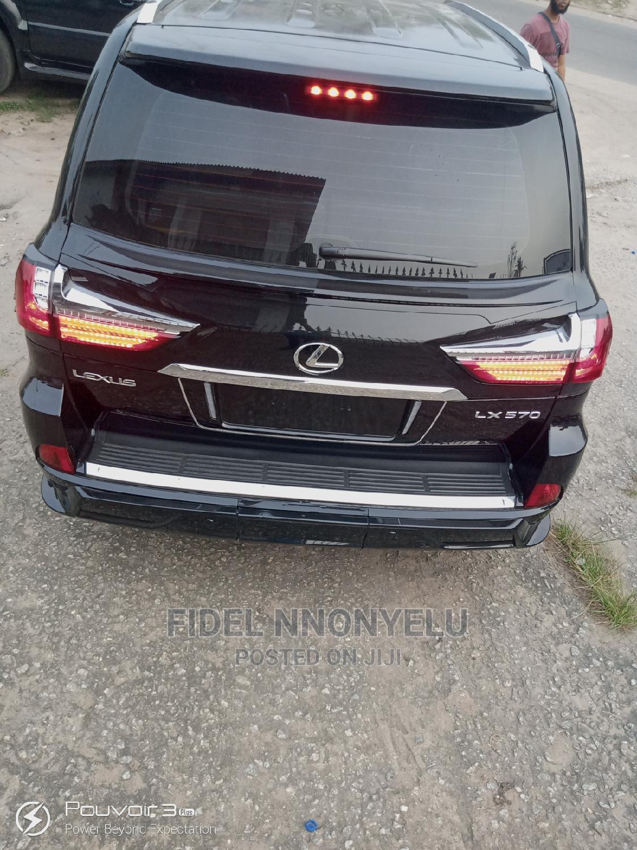 Lexus LX 2020 570 Three-Row Black | Cars for sale in Amuwo-Odofin, Lagos State, Nigeria