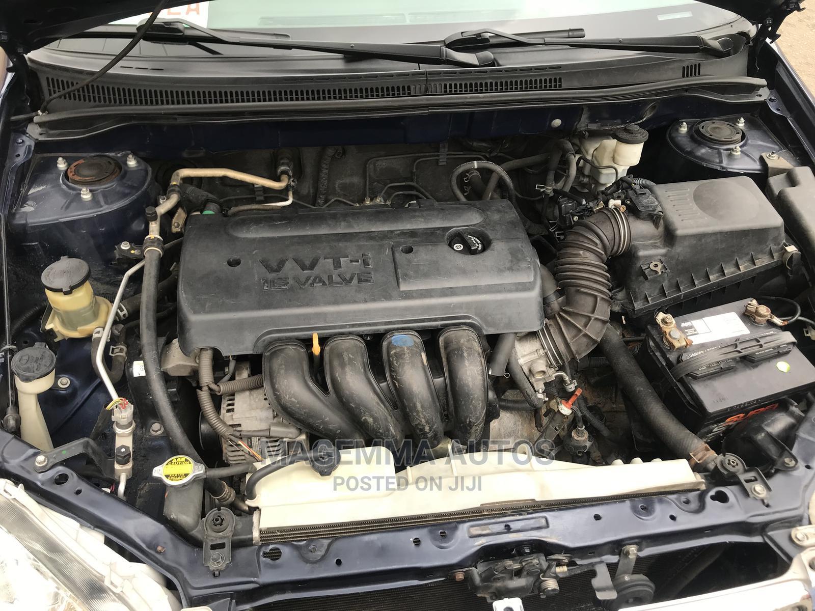 Toyota Corolla 2007 1.4 VVT-i Blue | Cars for sale in Ikeja, Lagos State, Nigeria