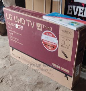 "LG 50"" UHD Smart Satellite 4k(50UN73)Webos Magic Remote | TV & DVD Equipment for sale in Lagos State, Ojo"