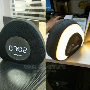 Zealot S23 Clock Wireless Bluetooth Speaker - Black   Accessories for Mobile Phones & Tablets for sale in Lagos State, Ikeja