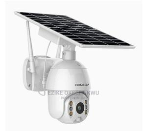 Solar Wifi Battery Powered Wireless Outdoor PTZ IP Camera | Security & Surveillance for sale in Abuja (FCT) State, Wuse 2