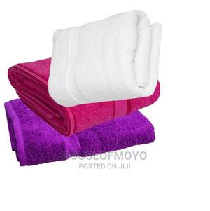 Towel High Absorbency Cotton Blue Red White Brown | Home Accessories for sale in Lagos State, Ikorodu