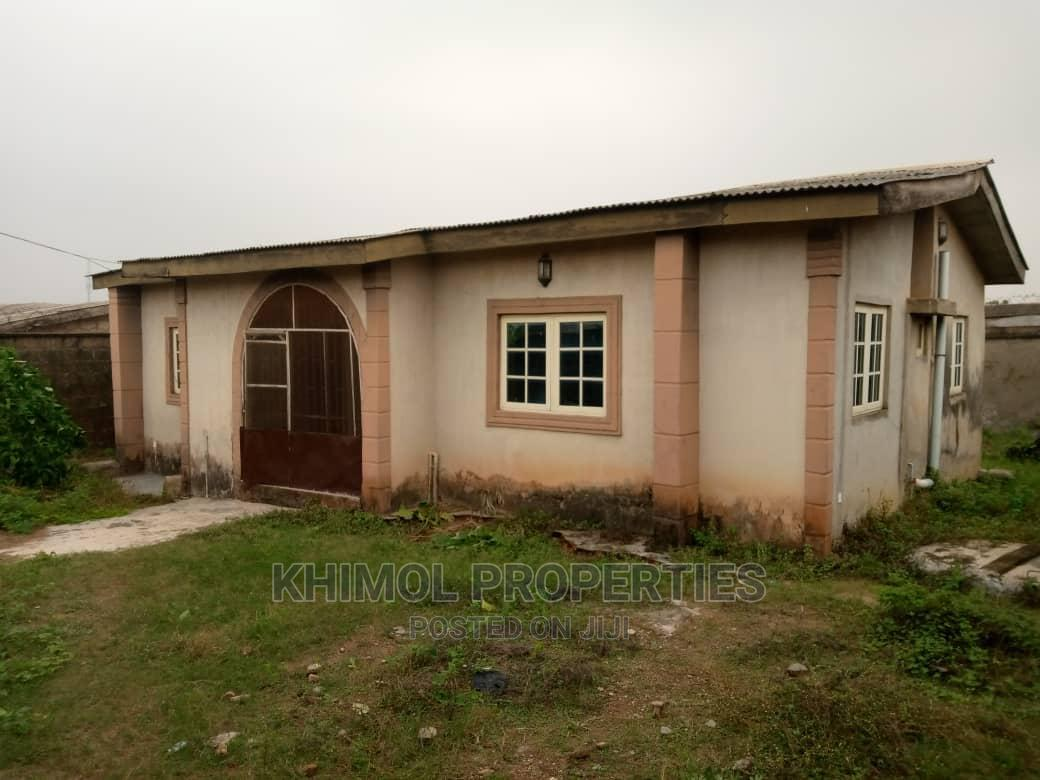 Archive: 3bedroom Bungalow All Tiles, Fenced on Half Plot at Amikanle