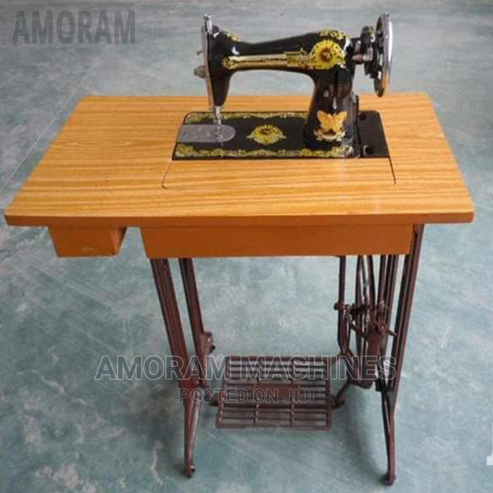 Original Butterfly Sewing Machine With Motor