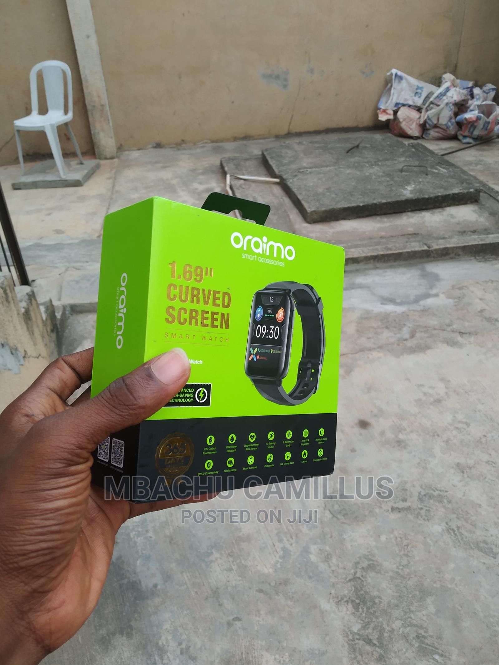 Archive: Oraimo OSW-16 Smart Watch