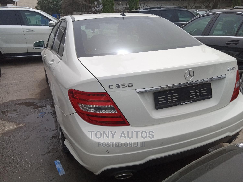 Archive: Mercedes-Benz C350 2014 White