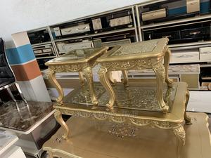 Italian Royal Center Table and Side Stools | Furniture for sale in Lagos State, Ojo