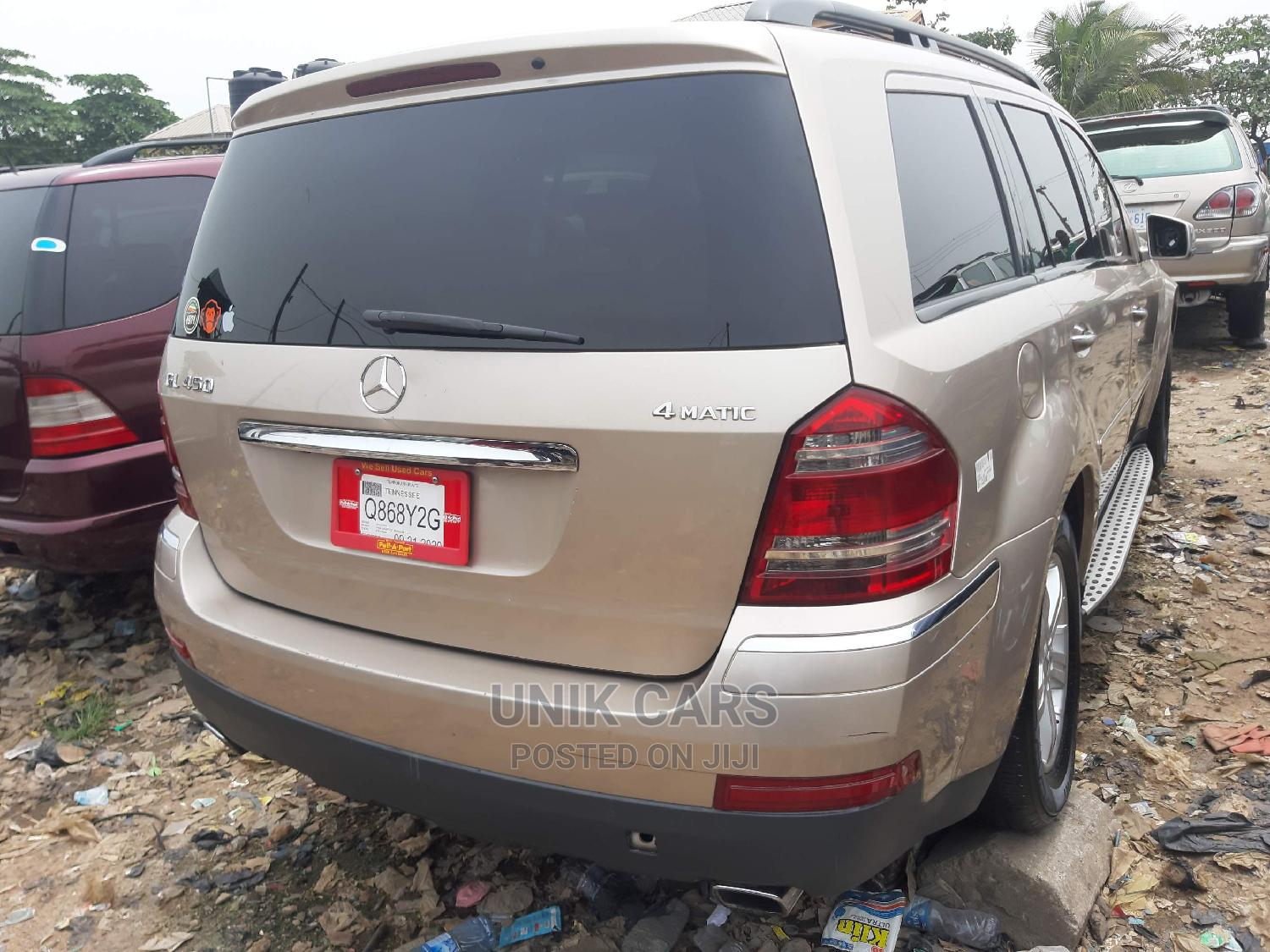 Mercedes-Benz GL Class 2008 GL 450 Gold | Cars for sale in Apapa, Lagos State, Nigeria