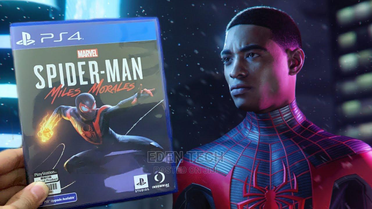 Spider Man Miles Morales Ps4