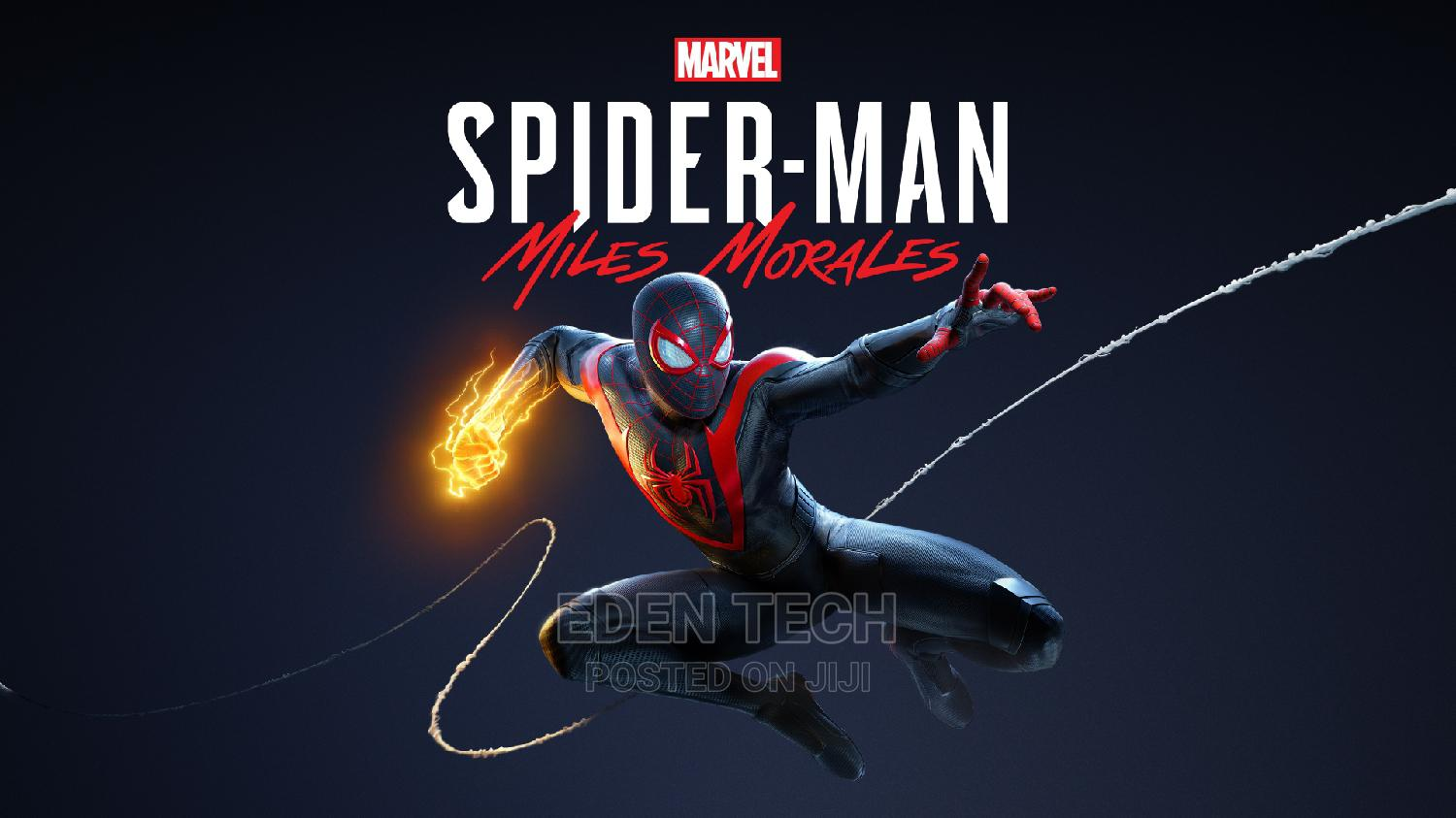 Spider Man Miles Morales Ps4 | Video Games for sale in Ikeja, Lagos State, Nigeria