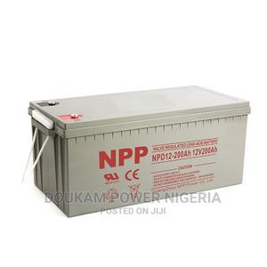 Npp Inverter Batterie 12volt 200AH, | Solar Energy for sale in Lagos State, Gbagada