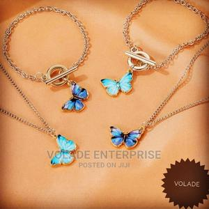 Necklace With Butterfly Pendant | Jewelry for sale in Oyo State, Ibadan