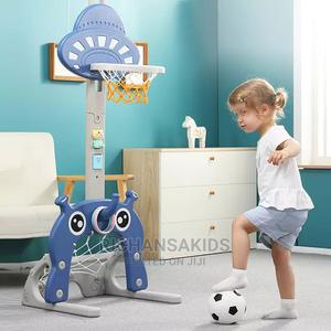 3 in 1 Basketball Hoop With Circle Games Football/Golf Hop | Toys for sale in Abuja (FCT) State, Lokogoma