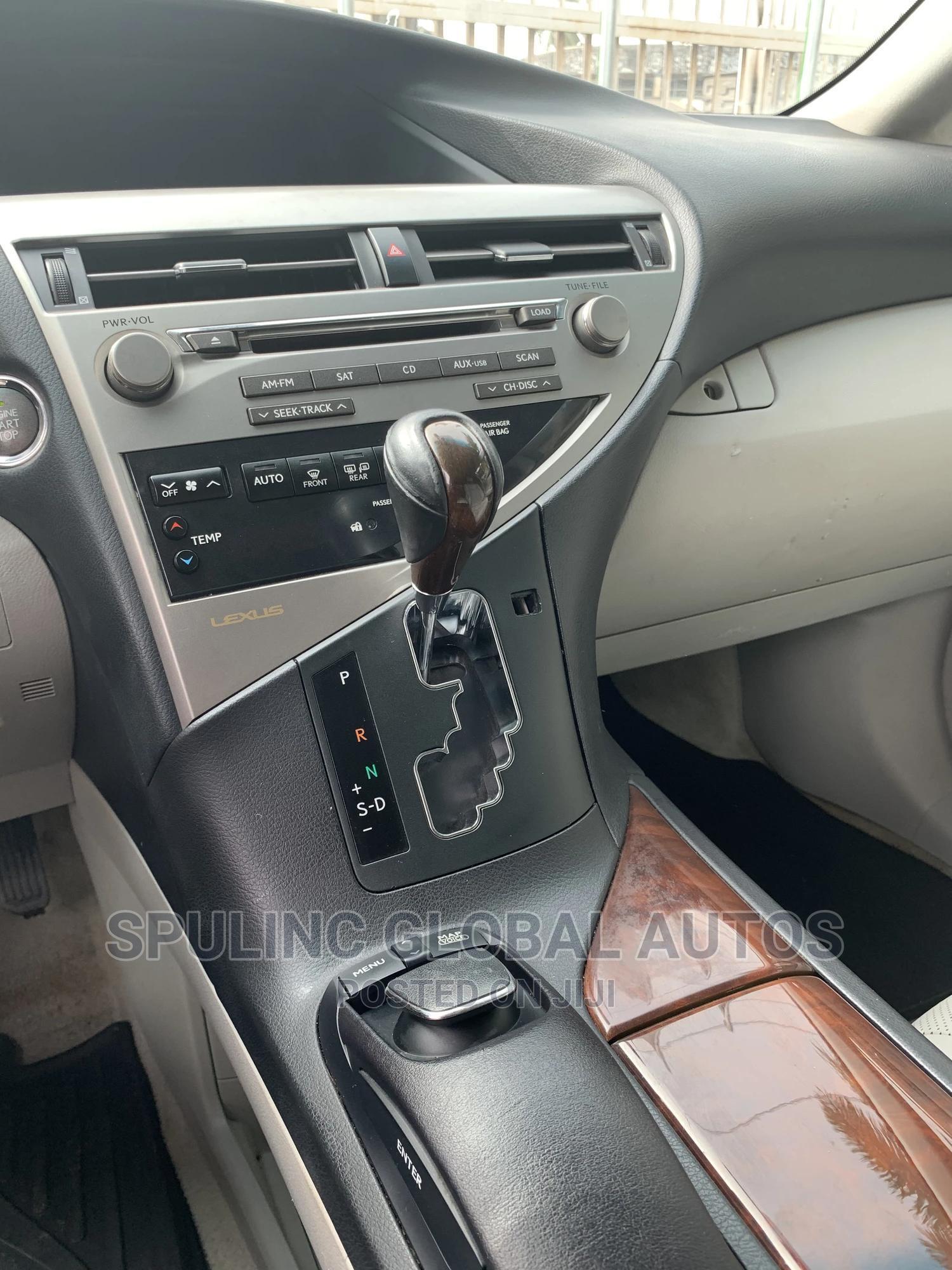 Lexus RX 2012 350 AWD Silver   Cars for sale in Amuwo-Odofin, Lagos State, Nigeria
