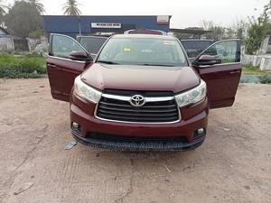 Toyota Highlander 2015 Brown | Cars for sale in Osun State, Osogbo