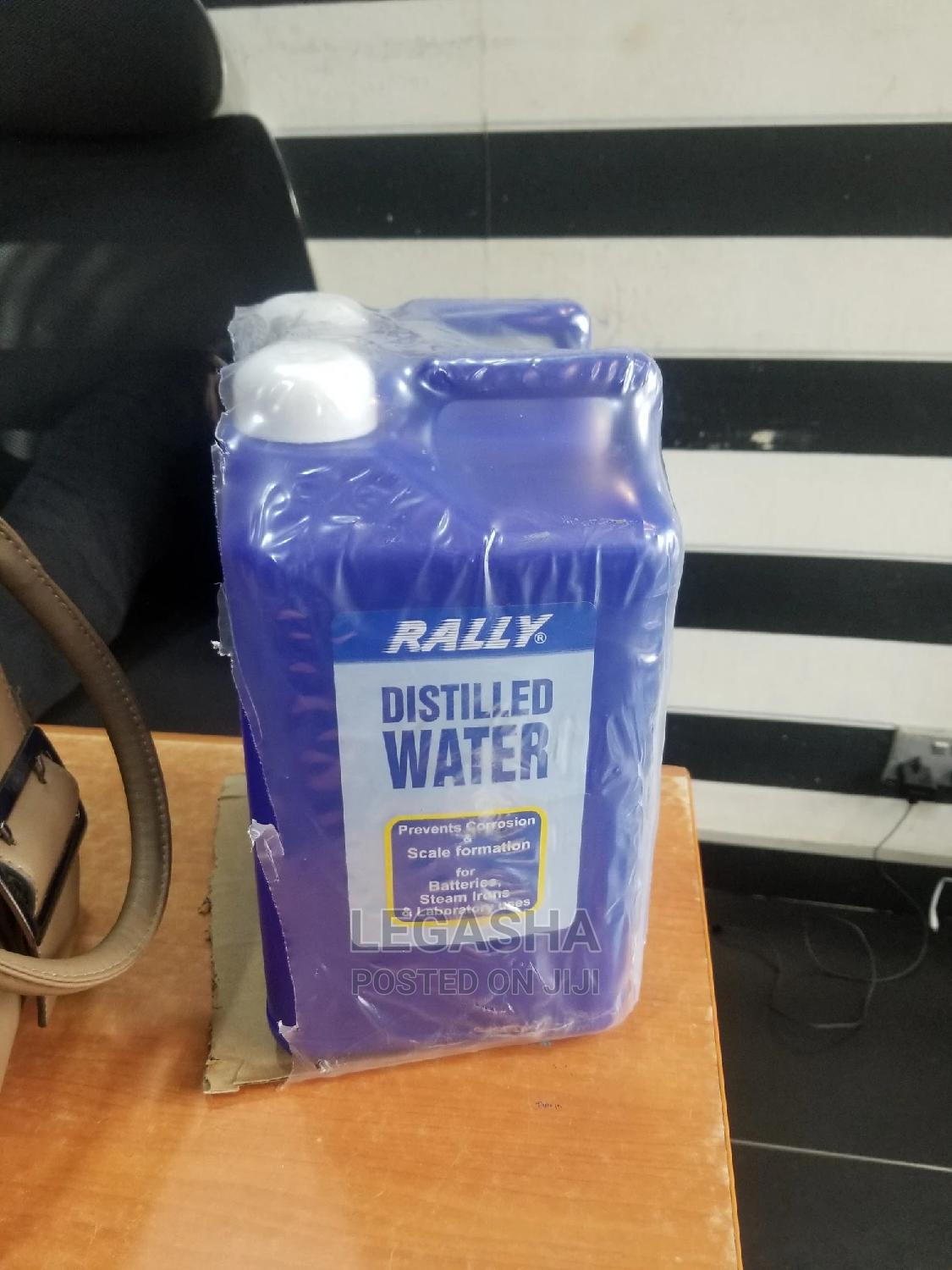 Rally Distilled Water For Batteries | Manufacturing Materials for sale in Ikeja, Lagos State, Nigeria