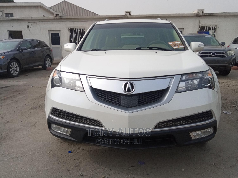 Acura MDX 2012 White