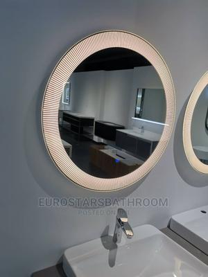 Round Sensor Executive Mirror | Home Accessories for sale in Lagos State, Orile