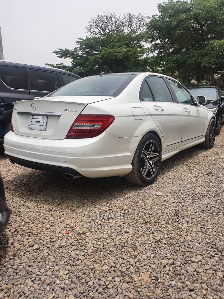 Mercedes-Benz C350 2009 White | Cars for sale in Garki 2, Abuja (FCT) State, Nigeria