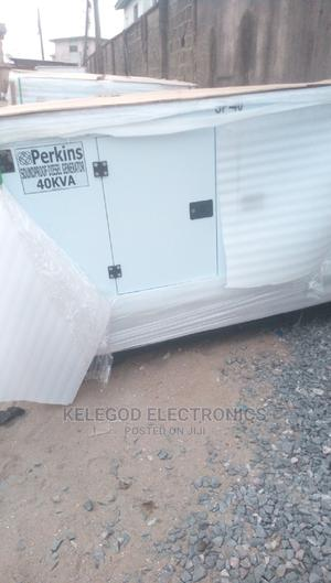 40 Kva Perkins Soundproof Diesel Generator | Electrical Equipment for sale in Lagos State, Ogba