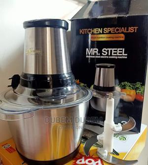 Mr Steel 3 Litrs Yam Pounder | Kitchen Appliances for sale in Lagos State, Lagos Island (Eko)