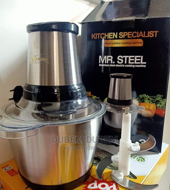 Mr Steel 3 Litrs Yam Pounder