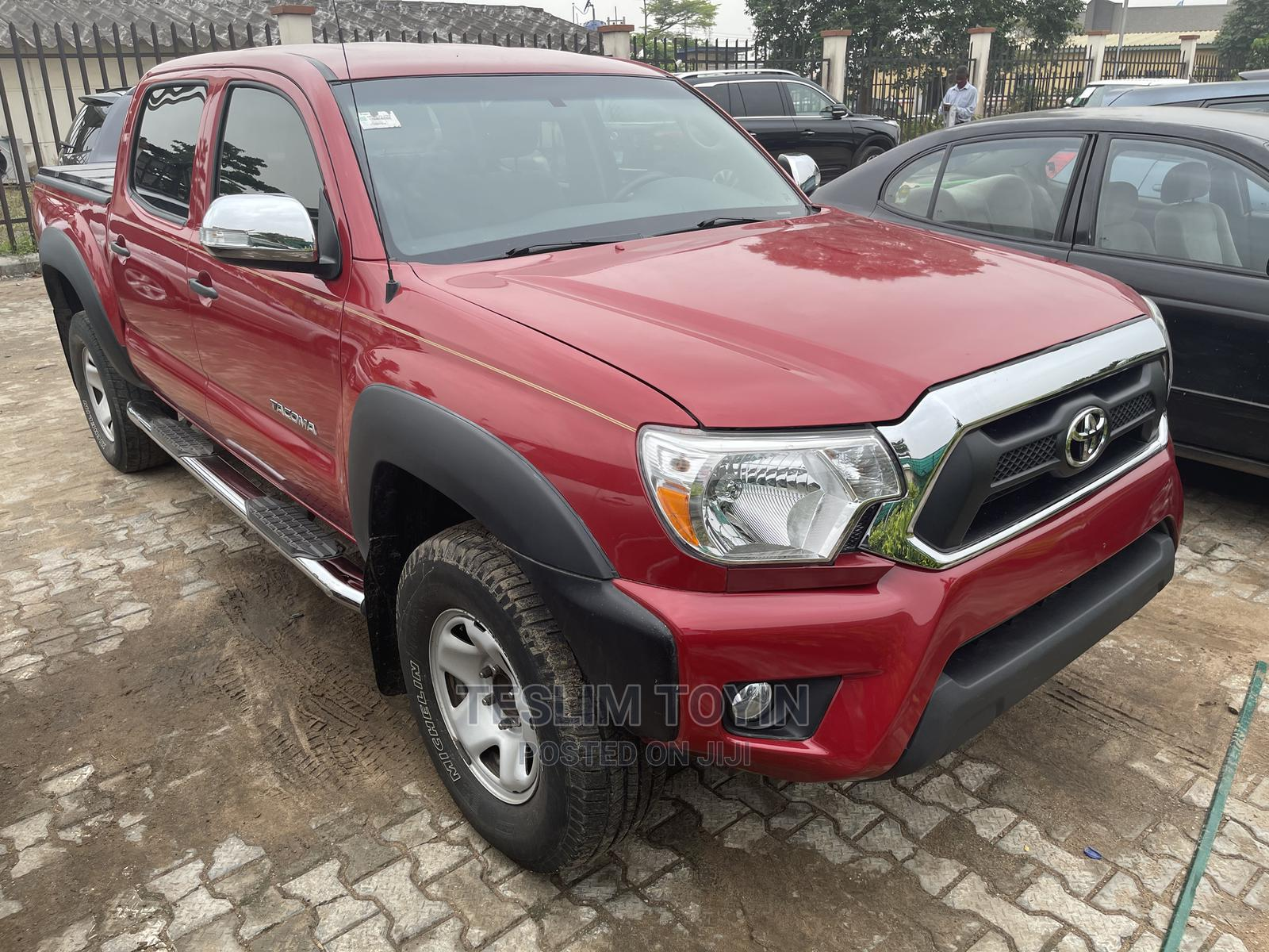 Toyota Tacoma 2010 Double Cab V6 Automatic Red | Cars for sale in Ikeja, Lagos State, Nigeria