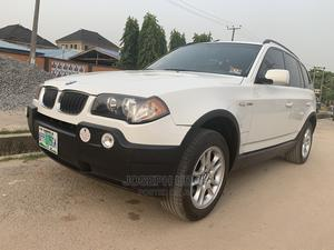 BMW X3 2005 2.5i White   Cars for sale in Lagos State, Ogba
