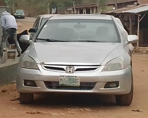Honda Accord 2003 Silver   Cars for sale in Oyo State, Oluyole