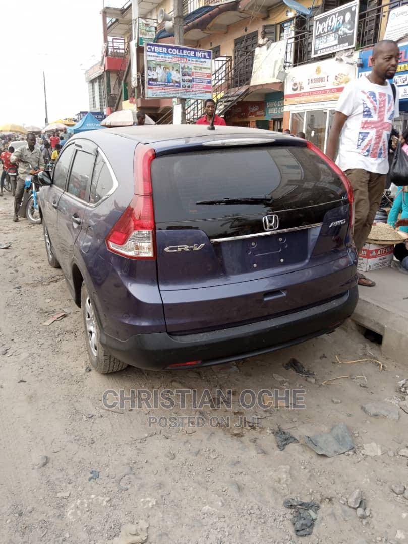 Honda CR-V 2012 Blue