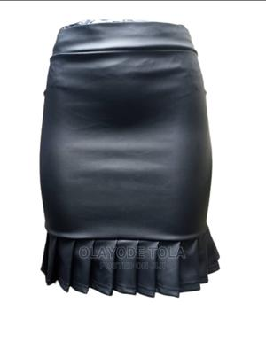 Leather Micro Mini Bum Short Skirt   Clothing for sale in Lagos State, Shomolu