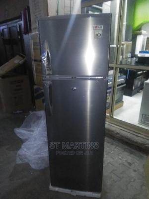 LG 400L 5ft+ Double Door Refrigerator With 2yrs Wrnty.   Kitchen Appliances for sale in Lagos State, Ojo