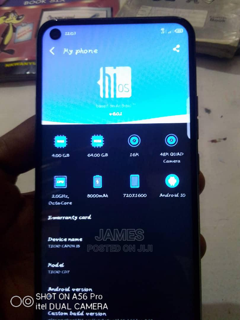 Tecno Camon 15 64 GB Green
