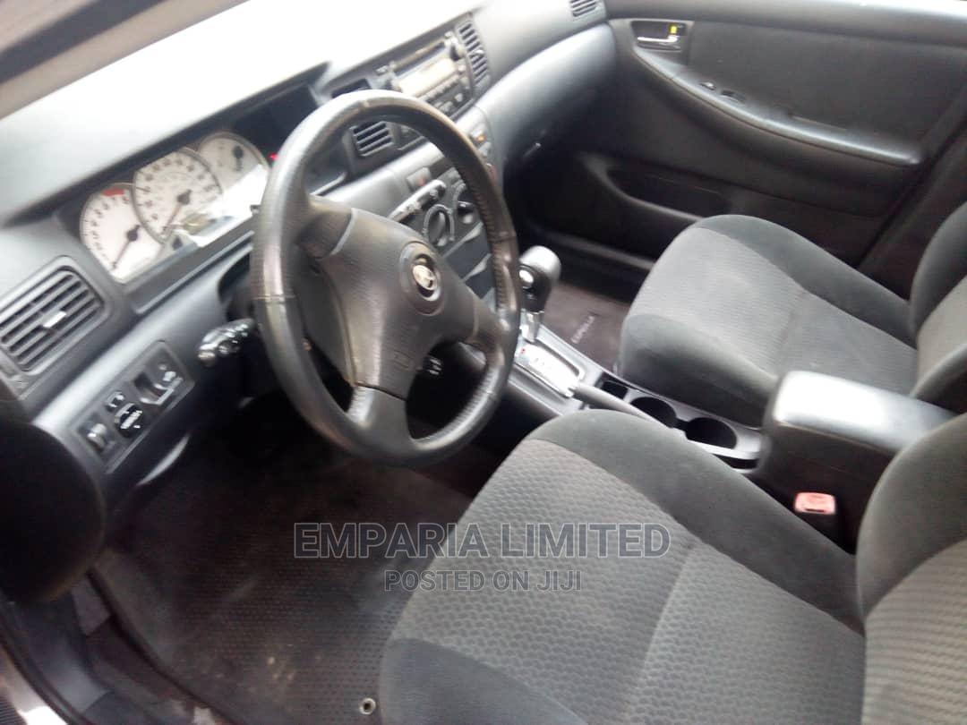 Archive: Toyota Corolla 2008 1.6 VVT-i