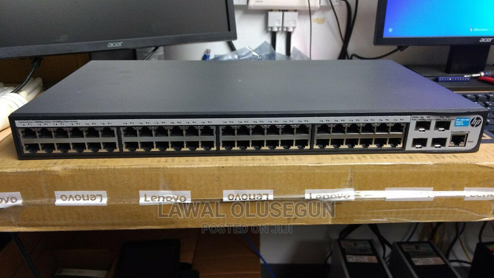 HP / HPE Officeconnect 1920-48g 48 Port Gigabit Smart