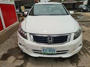 Honda Accord 2008 2.0 Comfort Automatic White   Cars for sale in Lagos State, Ajah