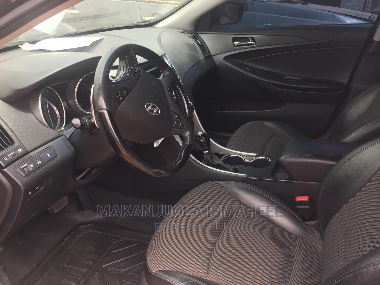 Hyundai Sonata 2012 Black   Cars for sale in Alimosho, Lagos State, Nigeria